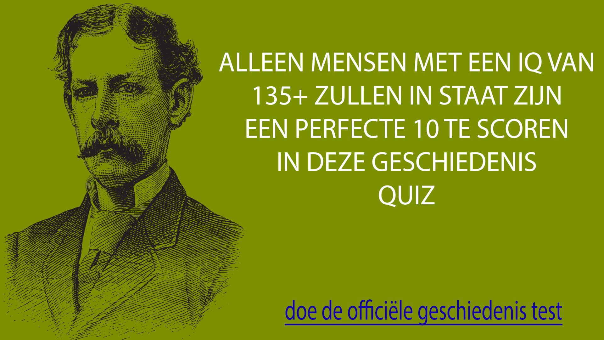 Geschiedenis Quiz
