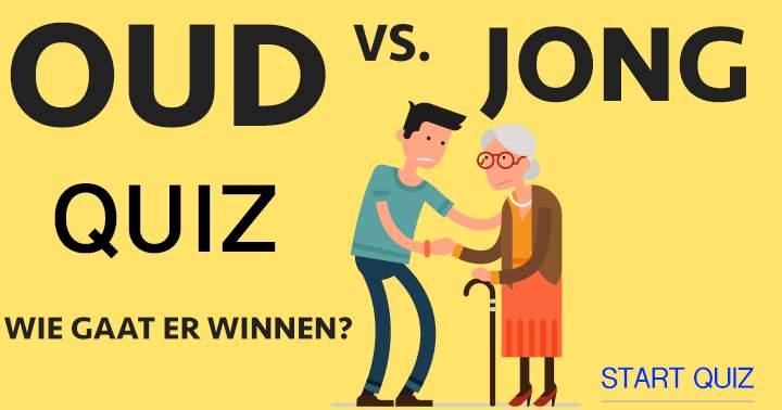 Oud versus Jong