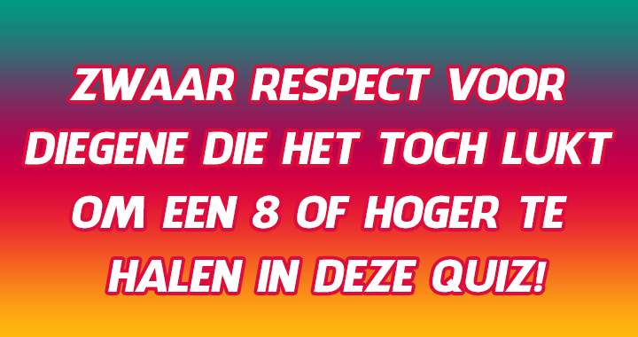 Niemand kent de Duitse vertaling van deze 10 Nederlandse woordjes