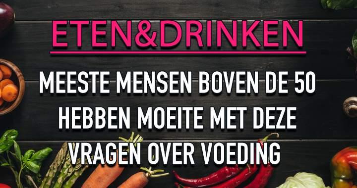 Eten&Drinken Quiz!