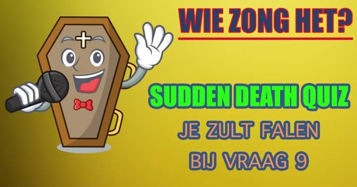 Wie Zong Deze Hits?