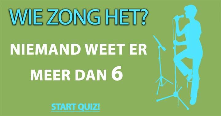 Quiz: Wie Zong Het?