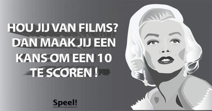 De leukste quiz over films!