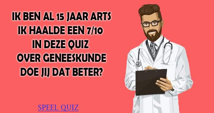 Doe jij het beter dan deze arts?