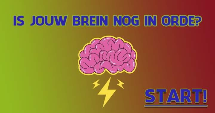 Check jij ook even de staat van jouw brein?